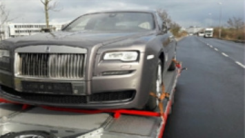Rolls-Royce import to Taiwan
