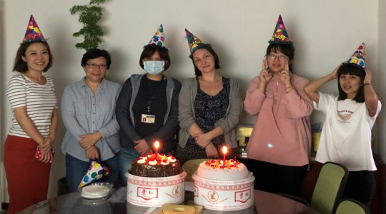 2019 Celebration party for our colleagues born in November and December.